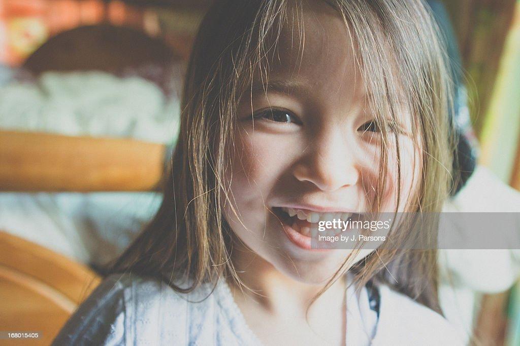 happy girl : Stock Photo