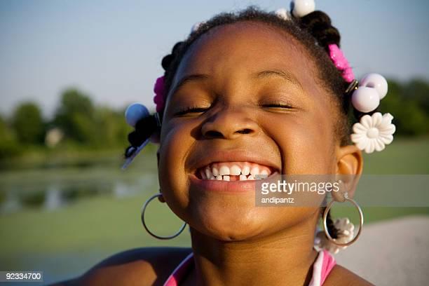 happy fille