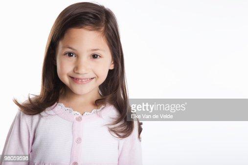happy girl : Foto de stock