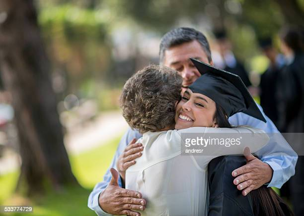 Heureux jour de la remise des diplômes