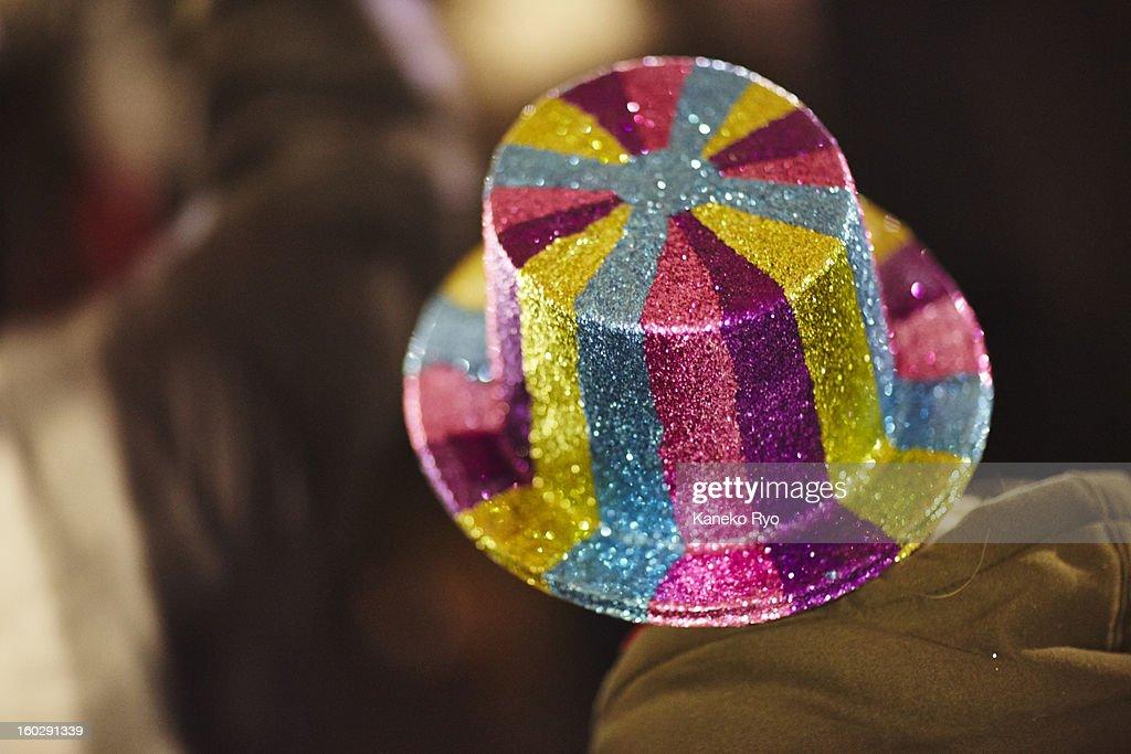 Happy Hat. : Stock Photo