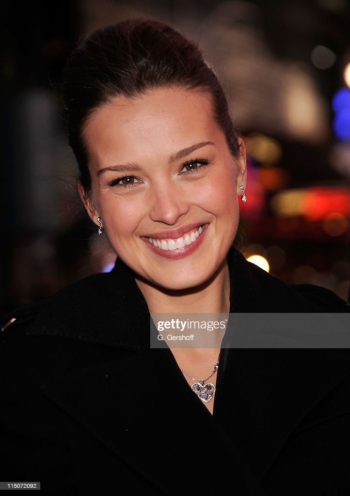 Petra Nemcova Rings The NASDAQ Closing Bell