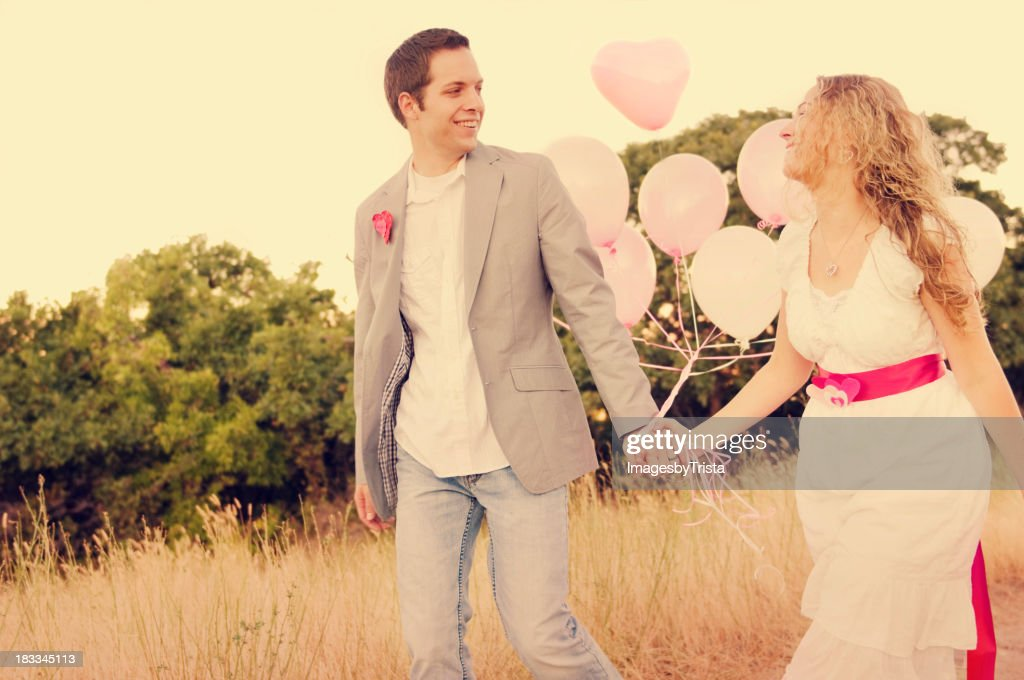 Happy in Love : Stock Photo