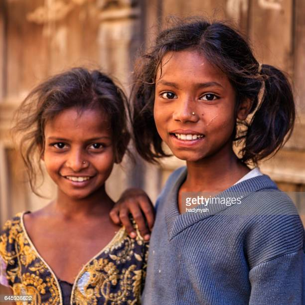 Happy Indian girls