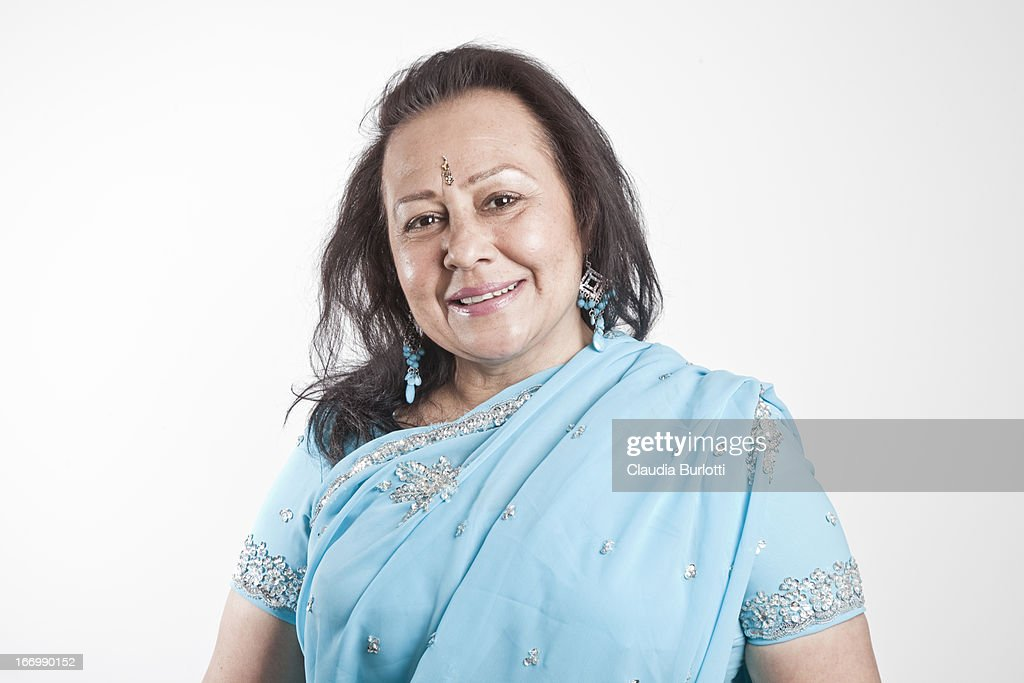 Happy Indian Lady