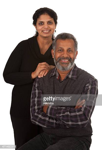 Happy Indian_american couple