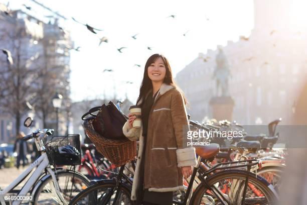 幸せな日本女サイクリング, コペンハーゲン