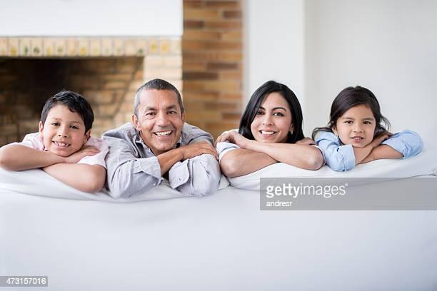 Glücklich Latin Familie