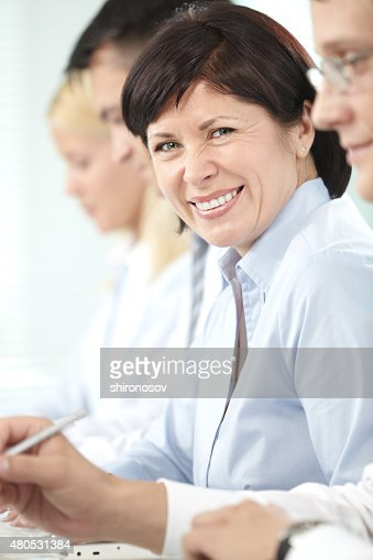 Happy leader : Stock Photo