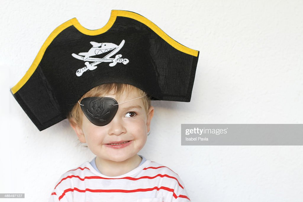 Happy little pirate