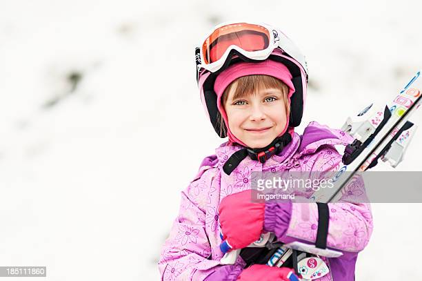 Happy little Skifahrer