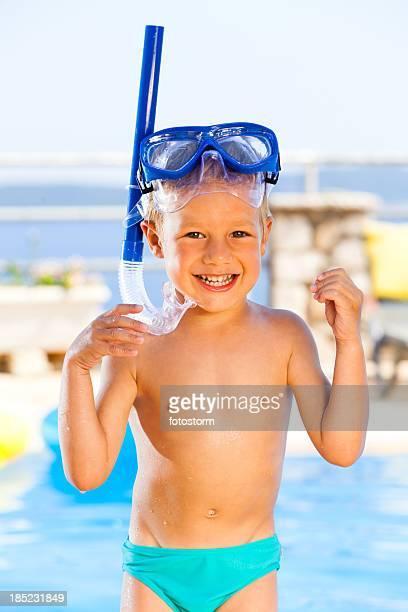Happy Little Snorkeler