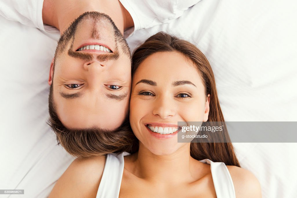 Happy loving couple. : Stock Photo