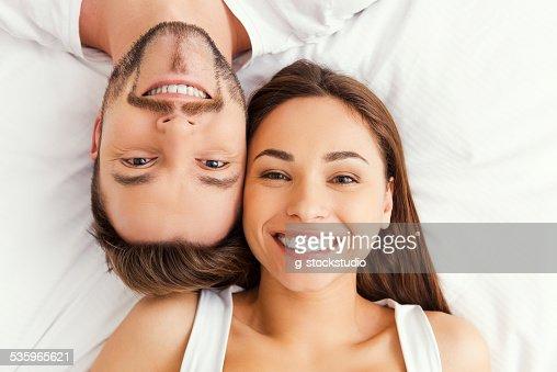 Happy loving couple. : Stock Photo