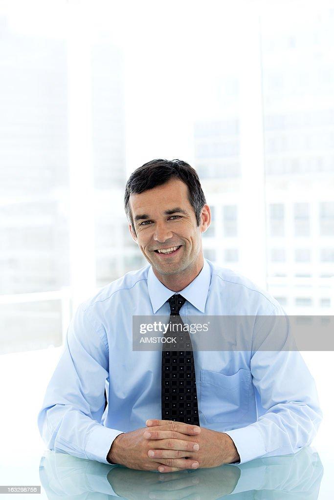 Happy Manager : Stock Photo
