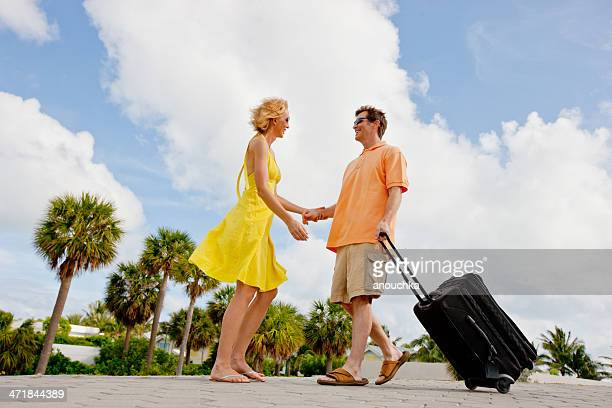 Happy Mature Couple on Vacations