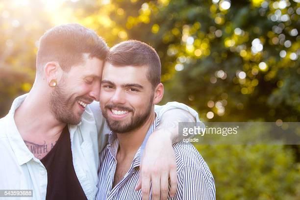 happy gay couples
