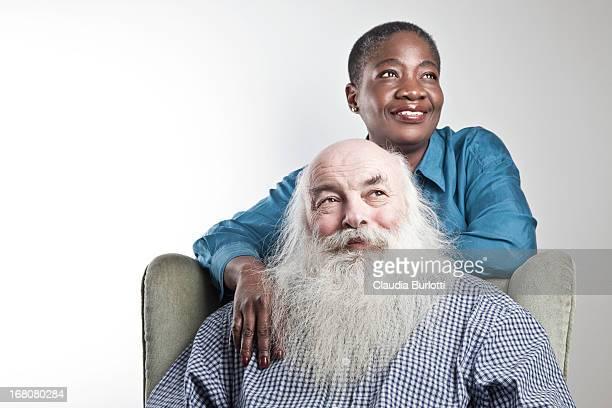 Happy Mixed Race Couple