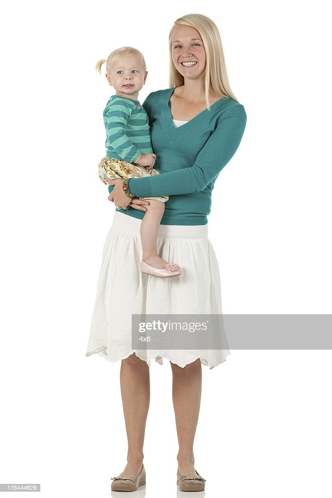 Happy mother with daughter : Stock Photo