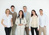Happy Multi Ethnic Business People