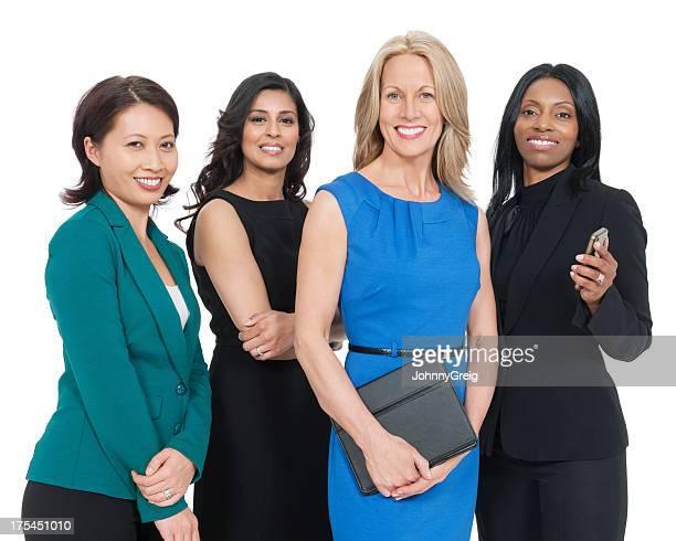 Happy Multiethnic Businesswomen