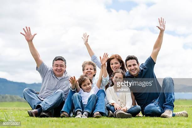 な多世代家族