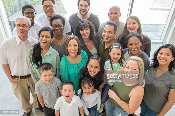 Heureuse Famille Multi-générations