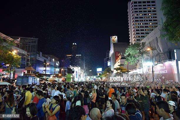 Happy new year at Central World Bangkok Thailand, Asia
