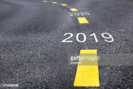 Happy new year concept : Stock Photo