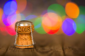 Happy New Year - Cork on the Desk