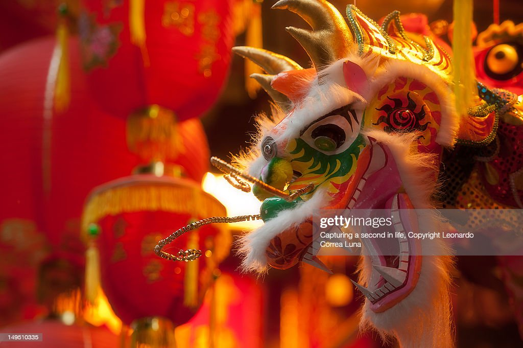 Happy New Year of the dragon : Stock Photo
