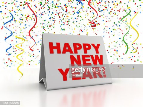 Happy New Year : Stockfoto