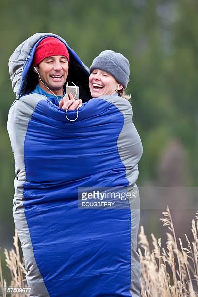 Happy Outdoor Couple