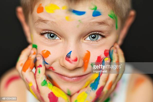 Peinture heureux