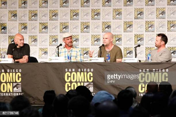 DIEGO 'Happy Panel' Pictured Grant Morrison Chris Meloni Brian Taylor Patrick MacManus