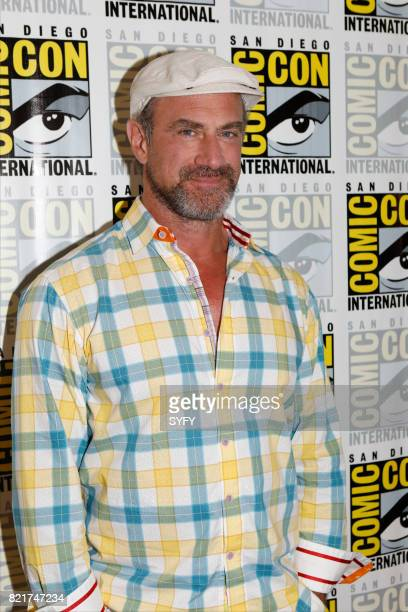 DIEGO 'Happy Press Room' Pictured Chris Meloni
