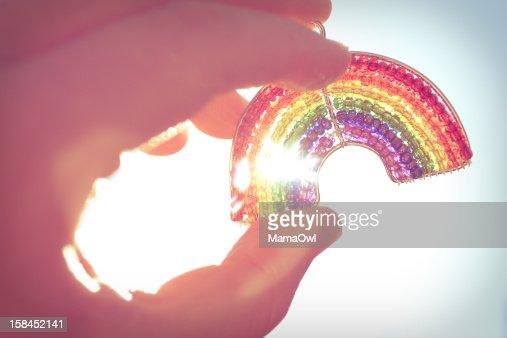 Happy Rainbow : Stock Photo