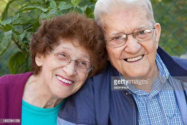 Feliz pareja Senior