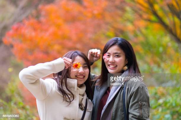 ハッピー姉妹秋葉で目をカバー