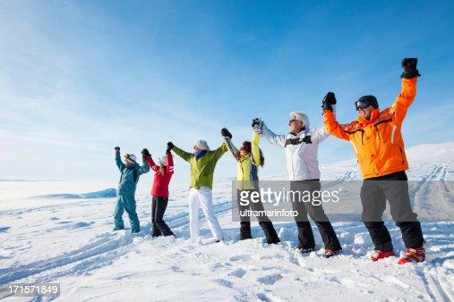 Heureux les skieurs