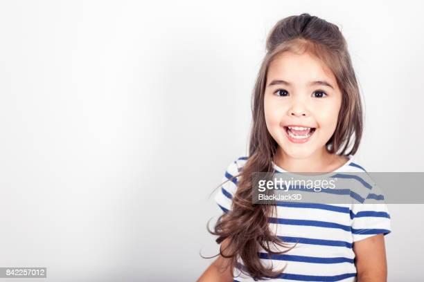 Heureuse petite fille