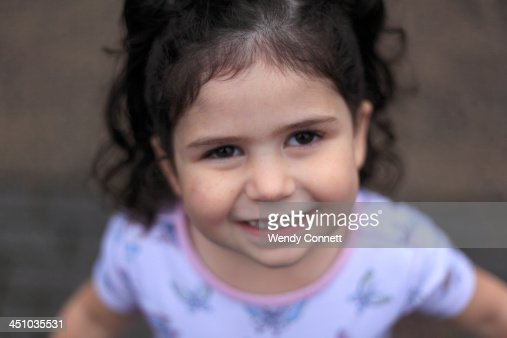 Happy Smiling Little Girl : Stock Photo