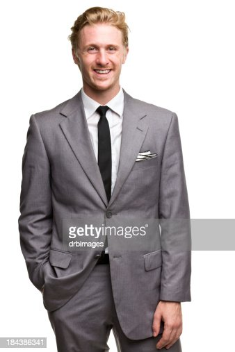Happy Smiling Man In Suit