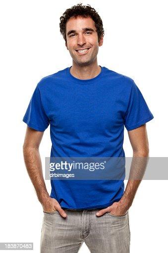 Happy Smiling Man Portrait