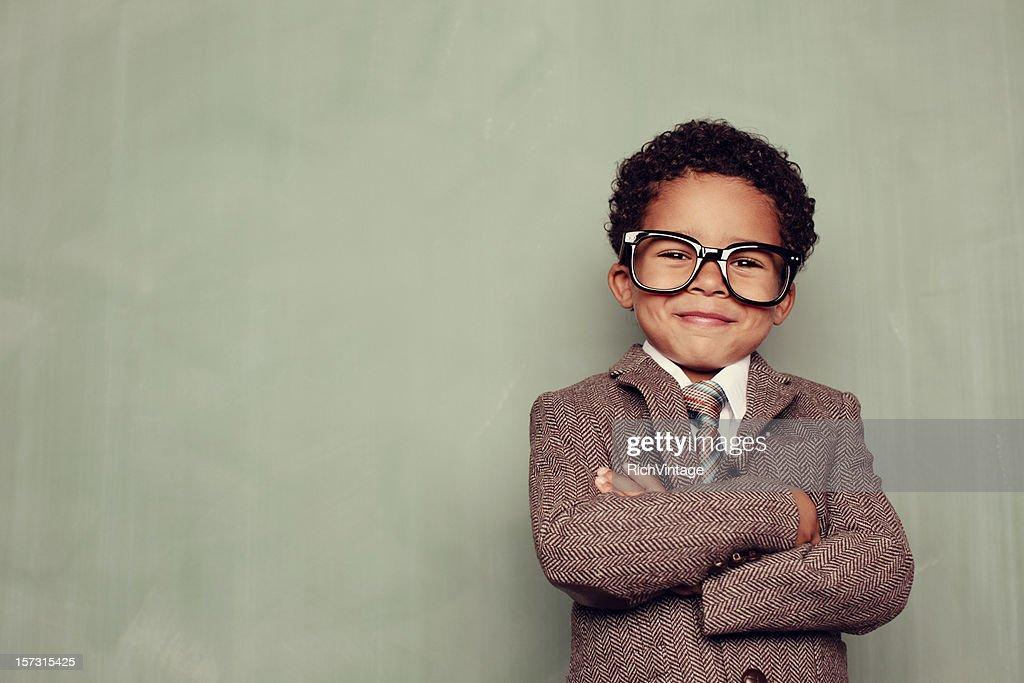 Insegnante felice : Foto stock