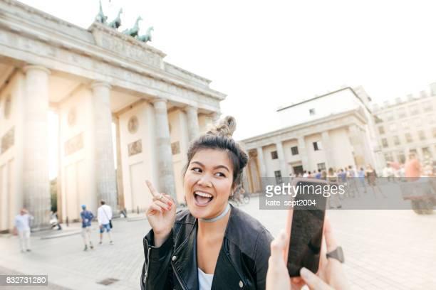 Glückliche Zeit in Berlin
