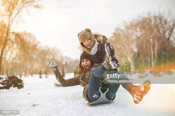 Happy times on snow