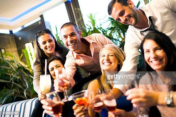 De bons moments avec vos amis