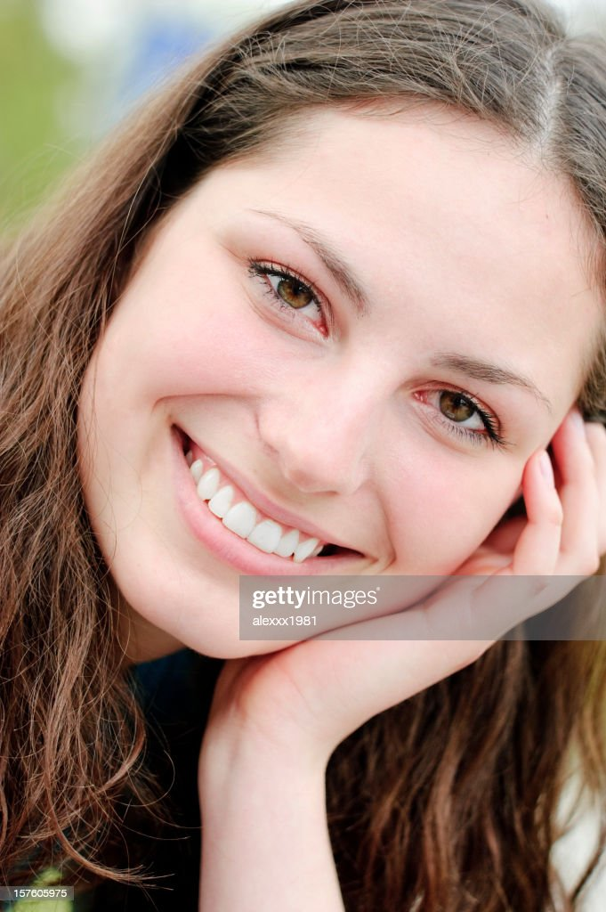 Happy Toothy smile : Stock Photo