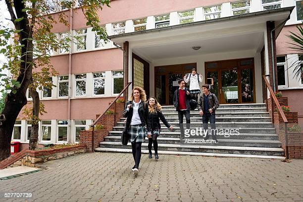Happy türkischen Schüler, die Schule, Istanbul